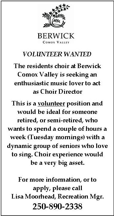 Choir Director wanted
